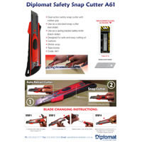 A61 Dual Action Safety Snap Cutter