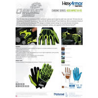 HexArmor Chrome Series: Impact Hi-Vis - 4026