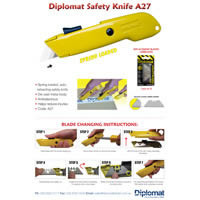 A27 Metal Safety Knife